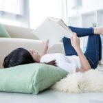 ごろ寝で読書