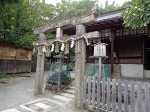 厳島神社の唐破風(からはふう)鳥居
