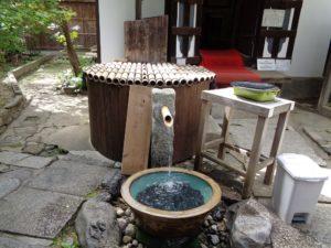 名水「桃の井」