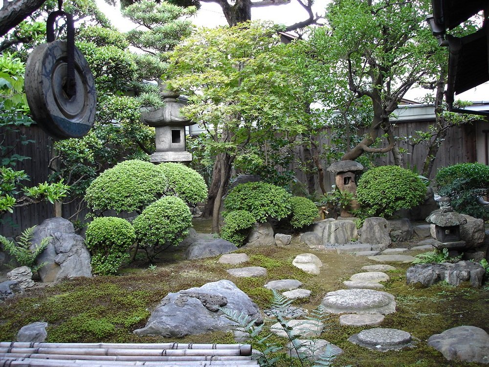 京都 新選組屯所 八木邸の庭