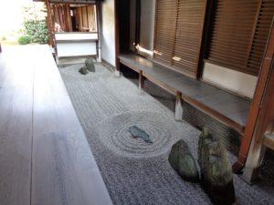 龍源院 方丈坪庭「東滴壺」(とうてきこ)