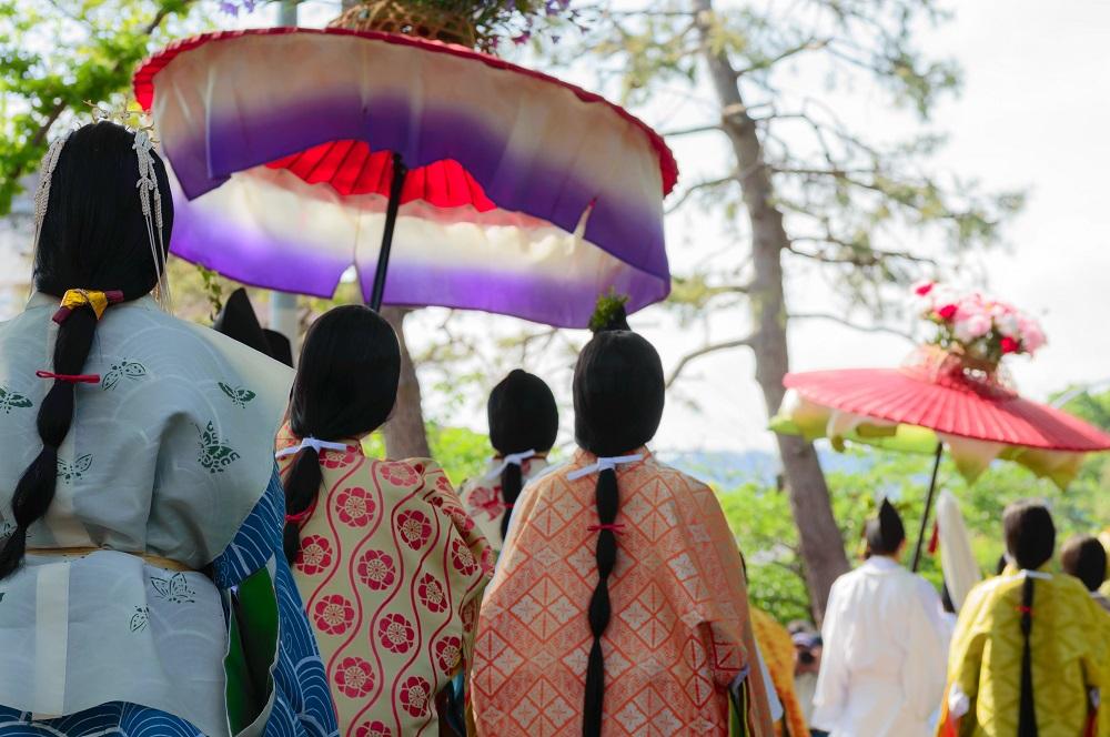 葵祭 女人列