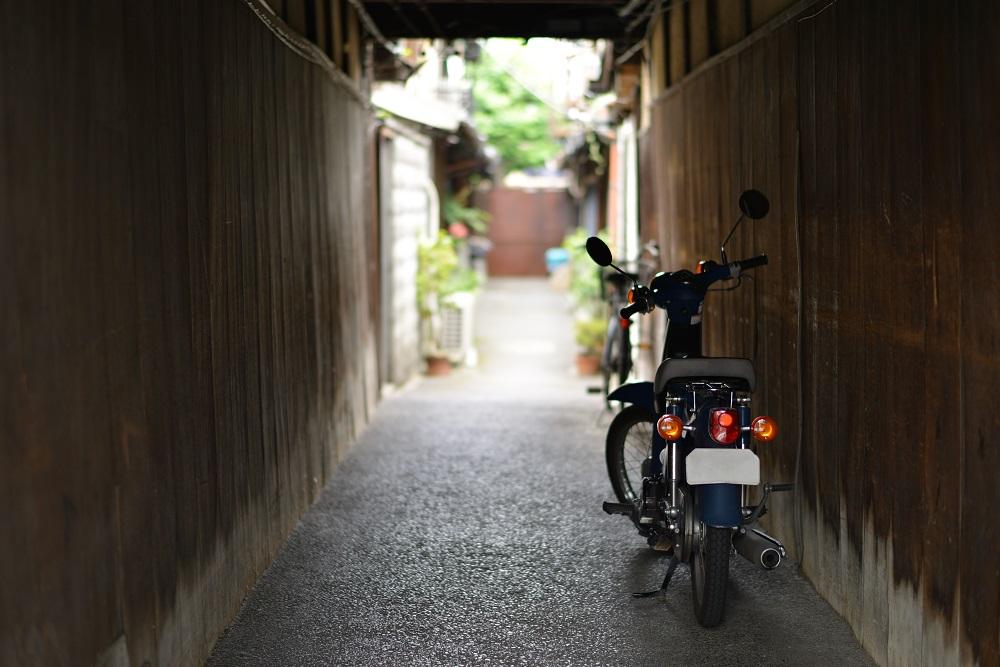 京都 路地の風景