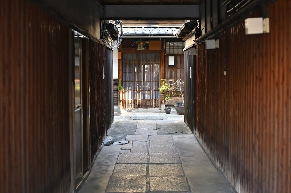 京都 路地(図子)