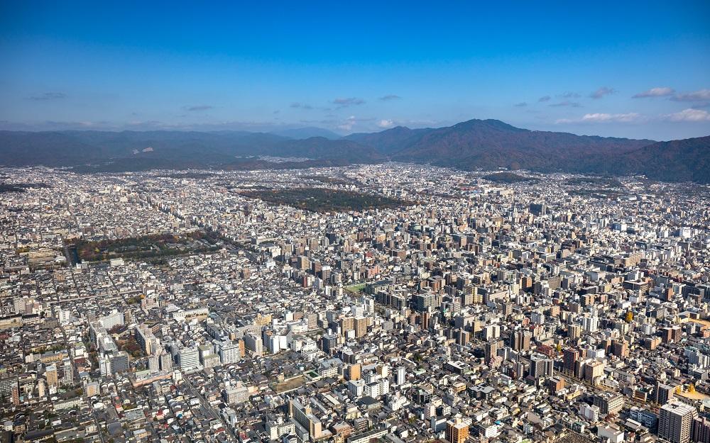 京都市全景