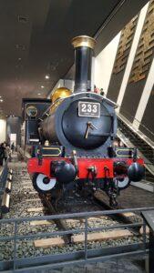 現存する最古の国産初量産型機関車、233号機関車(国の重要文化財)