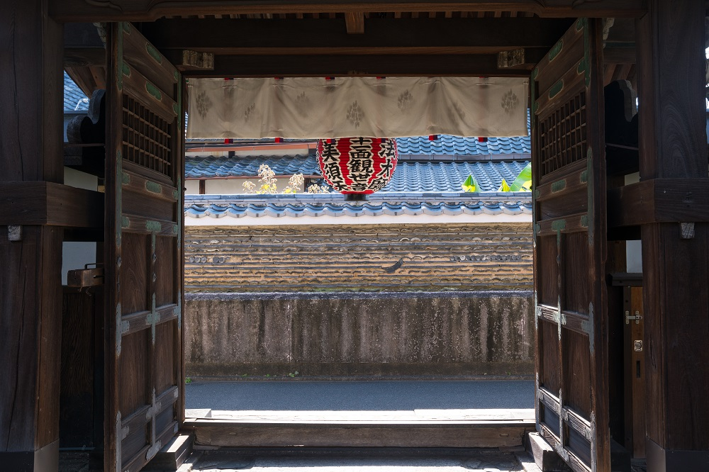 京都の西陣聖天宮 雨宝院