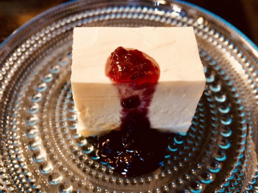フランソア喫茶室 レアチーズケーキ